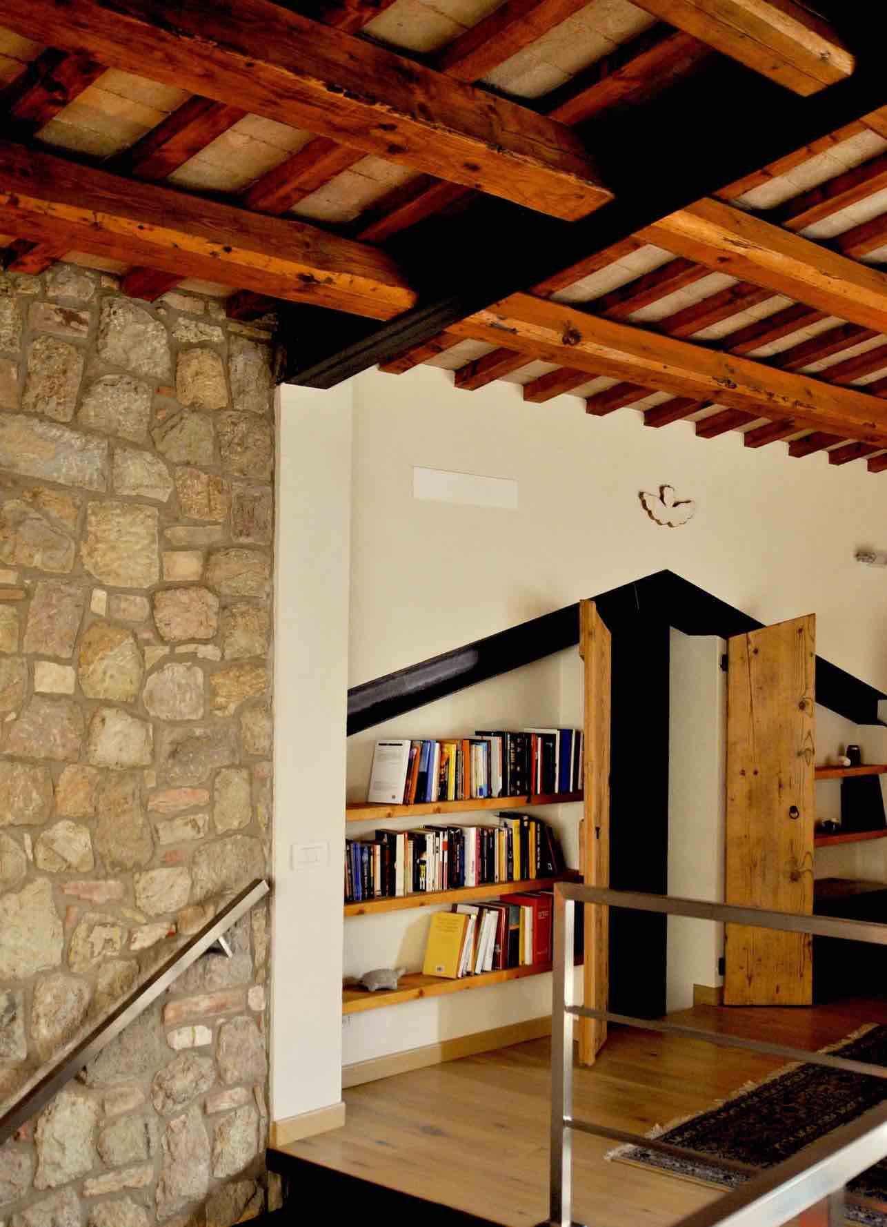 Casa Brogion, gli interni