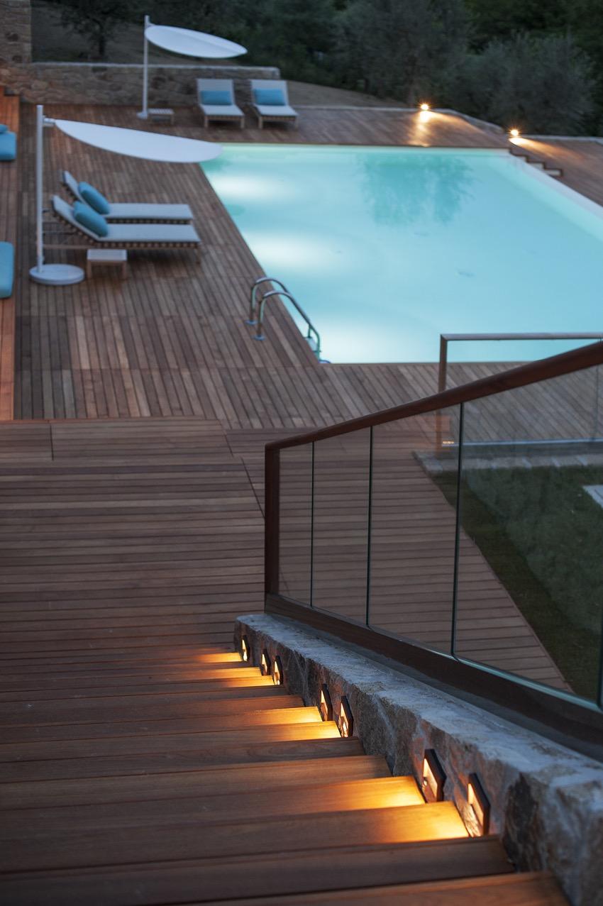 Villa delle Ninfee la piscina