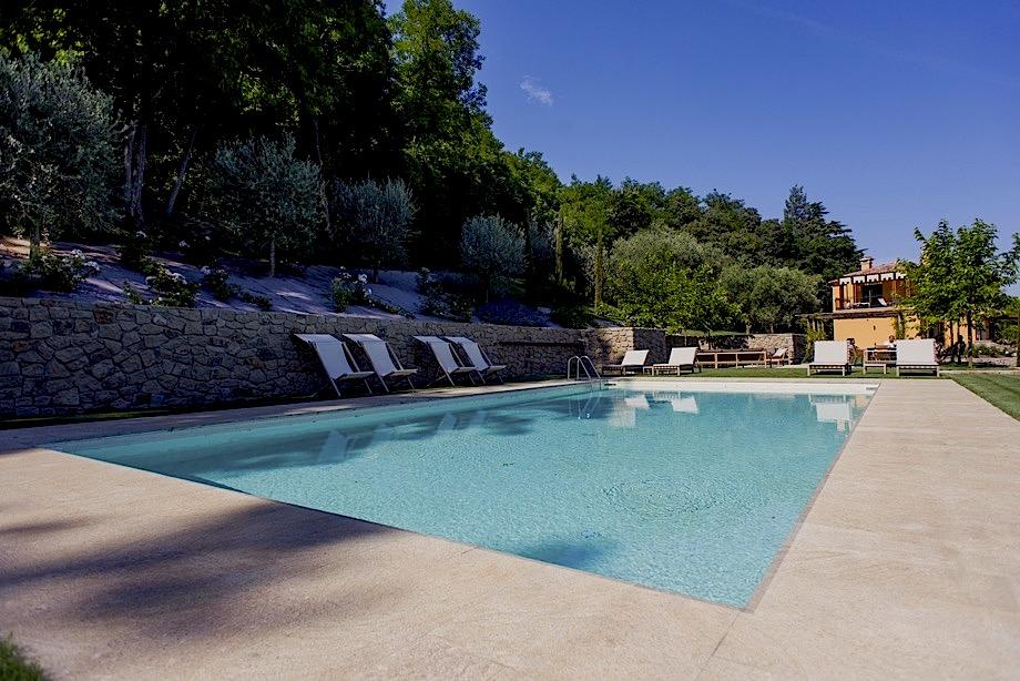 Villa delle Rose, la piscina