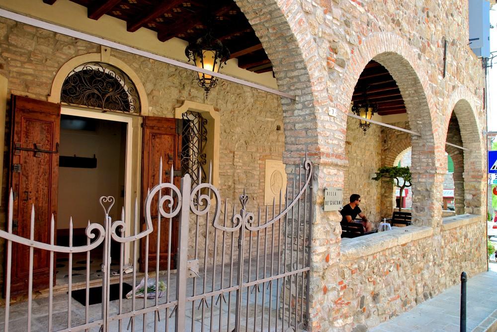 Portico cancello VDG